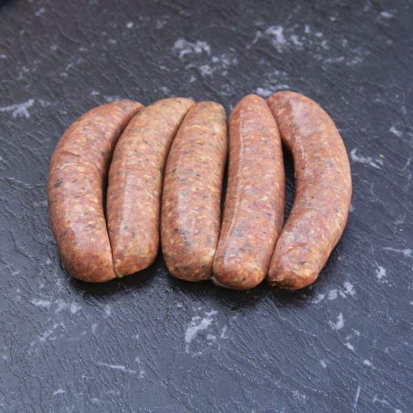 Hot and Spicy Pork Sausages