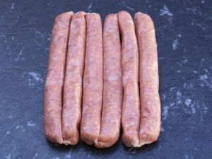 Traditional Thin Beef Sausages